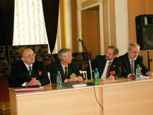 Президиум (слева направо):Сусляев В.И., Бузник В.М., Дунаевский Г.Е., Дёмин В.В., 2006 г.